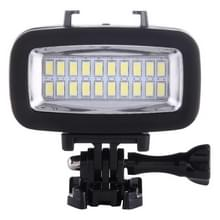 SL-100 Waterproof 6W 5500K 700LM LED Camera Camcorder Video Fill Light Photography Lamp with 20 LEDs