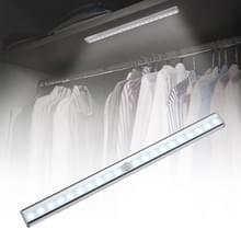 Magneet LED mens Motion Sensor licht Lamp  20 LEDs Square stijl voor kasten  Sensor afstand: 3-5m (wit licht)