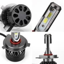 2 stk H4 HB2 9003 Hi/Lo auto Lamp vervanger LED koplamp bollen ombouwkit  koel wit 6000K 2000LM 22W