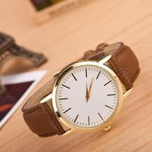 3 pak marmer en gouden riem horloges (kleur: koffie)