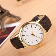 3 pak marmer en gouden riem horloges (kleur: zwart)