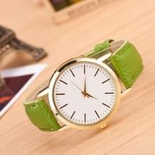 3 pak marmer en gouden riem horloges (kleur: groen)