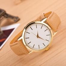 3 pak marmer en gouden riem horloges (kleur: Khaki)