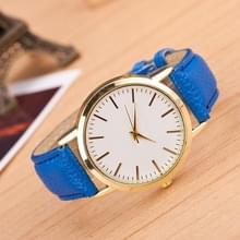 3 pak marmer en gouden riem horloges (kleur: blauw)