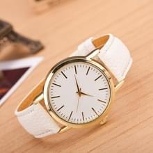 3 pak marmer en gouden riem horloges (kleur: wit)
