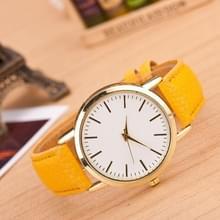 3 pak marmer en gouden riem horloges (kleur: geel)