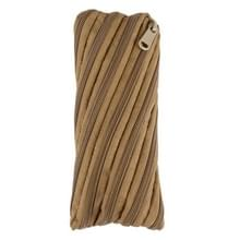 Parachute Cord Zipper Bag, Size: 21*8.5cm (Clay)