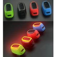 Meilan X6 Smart Switch 6 Flash modellen oplaadbare fiets staart Light(Green)