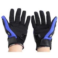 Een paar beschermende motorfiets van Pro-BIKER MCS - 01 C ademend Wearable volledige vinger handschoenen Outdoor sporten houd warme handschoenen  maat: L(23-24cm)(Black+Blue)
