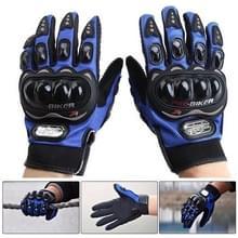 Een paar beschermende motorfiets van Pro-BIKER MCS - 01 C ademend Wearable volledige vinger handschoenen Outdoor sporten houd warme handschoenen  maat: XL(25-27cm)(Black+Blue)