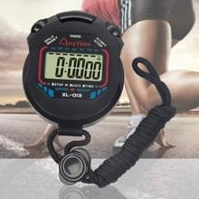 Professionele sport overeenkomen met Stopwatch digitale Handheld LCD Display Timer