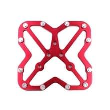 Enkele weg fiets Universal Clipless aan pedalen Platform Adapter voor fiets MTB schoenen  grootte: Large(Red)