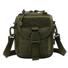 INDEPMAN DL-B020 Fashion Army Style Oxvoord kleding Tactical Package Crossbody Bag Shoulder Sling Bag Hand Bag Messenger Bag, Size: 17 x 15 x 8 cm(Olive)