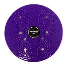 Aerobic Exercise Fitness magneet kronkelende taille schijf Twist Board  grootte: 25*3cm(Purple)