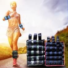 Een paar van Verkoopmanager Fitness apparatuur enkel laden gewichten Gaiter zandzakken  verstelbare onzichtbare Running Sport zandzakken  gewicht: 4kg