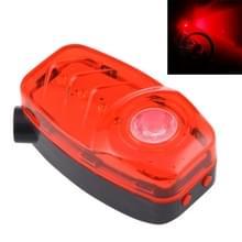 Rood licht 2 geleid 4 modi & 2 Laser 2 modi fiets achter licht licht met stuurhouder waarschuwing