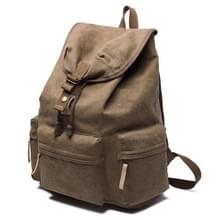 Multifunctionele doek rugzak schouders tas camera's zakken buiten Sporttas met bekleding & regenhoes, maat: 50x37x15cm(Coffee)