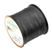 8.0# 0 50 mm 80LB 40.8kg spanning 500m Extra sterk 4 aandelen vlecht PE vislijn Kite Line(Black)