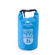 Naturehike 2L Outdoor PVC doek Trekking rivier drijven waterdichte tas ultralichte zwemmen Bag(Blue)