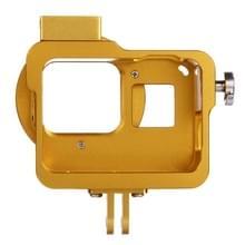 PULUZ Housing Shell CNC Aluminium Alloy beschermende behuizing Cage met 52mm UV Lens voor GoPro HERO5(Gold)
