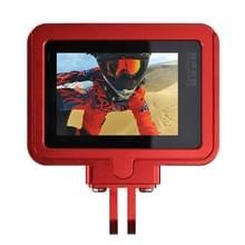 PULUZ behuizing Shell CNC Aluminium Alloy beschermende Cage met beveiligings Frame voor GoPro HERO5(rood)