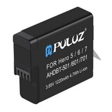 PULUZ AHDBT-501 3.85V 1220mAh Batterij voor GoPro HERO5/6