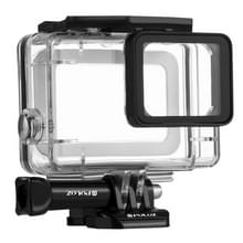 PULUZ for GoPro HERO6 /5 30m Underwater Waterproof Housing Diving Protective Case with Buckle Basic Mount & Screw