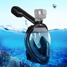 PULUZ 220mm buis watersport apparatuur volledig droog Snorkel duikbril voor GoPro HERO6 /5 /5 sessie /4 sessie /4 /3+/3 /2 /1 Xiaoyi en andere actie camera's S/M Size(Black)
