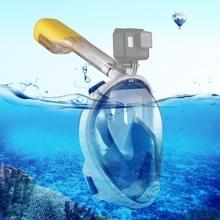 PULUZ ik versie watersport apparatuur volledig droog Snorkel duikbril voor GoPro HERO6 /5 /5 sessie /4 sessie /4 /3+/3 /2 /1 Xiaoyi en andere actie camera's S/M Size(Blue)