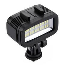 PULUZ 20 LEDs 30m waterdicht IPx8 Studio licht Video & foto licht met Hot Shoe Adapter basis & Quick Release Buckle & lange schroef & 2 x Filter platen voor GoPro HERO5 /4 /3 /2 /1