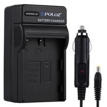 PULUZ 2 in 1 Digital Camera Battery Car Charger for Nikon EN-EL3 / EN-EL3e  FUJI FNP150 Battery