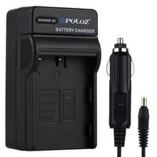 PULUZ 2-in-1 Digitale Camera batterij auto-oplader voor Nikon EN-EL3 / nl-EL3e FUJI FNP150 batterij