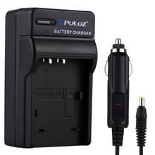 PULUZ 2-in-1 Digitale Camera batterij autolader voor Sony NP-BX1 accu