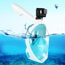 PULUZ 240mm Fold buis watersport apparatuur volledig droog Snorkel duikbril voor GoPro HERO6 /5 /5 sessie /4 sessie /4 /3+/3 /2 /1, Xiaoyi en andere actie camera's, S/M Size(Green)
