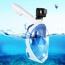 PULUZ 240mm Fold buis watersport apparatuur volledig droog Snorkel duikbril voor GoPro HERO6 /5 /5 sessie /4 sessie /4 /3+/3 /2 /1, Xiaoyi en andere actie camera's, S/M Size(Blue)