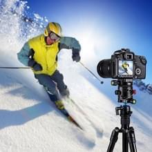 PULUZ aluminiumlegering panoramisch 360 graden indexeren Rotator bal hoofd met Quick Release plaat voor Camera Tripod Head