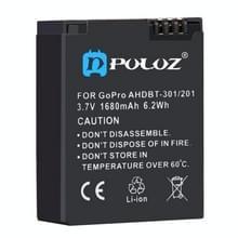 PULUZ AHDBT-301/201 3.7V 1680mAh Li-ion Batterij voor GoPro HERO3 + /3