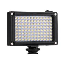 PULUZ Porcket 96 LEDs Professional Photography Video & Photo Studio Light with White and Orange Magnet Filters Light Panel for Canon  Nikon  DSLR Cameras
