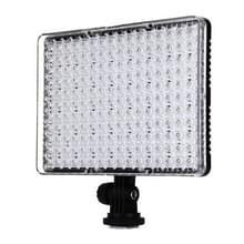 PULUZ 176 LEDs 1290LM 5600K / 3200K dimbaar Studio licht Video & Photo Light met Filter 2 platen voor Canon Nikon DSLR Camera