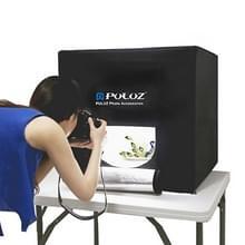 PULUZ Opvouwbare Portable 30W 5500LM Fotoverlichting Studio Tent Box Set met Wit licht en 3 kleuren achtergronden (zwart, geel, wit), Afmetingen: 80 x 80 x 80cm