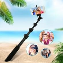 PULUZ Extendable Adjustable Handheld Selfie Stick Monopod for GoPro HERO6 /5 /4 Session /4 /3+ /3 /2 /1 and Smartphones  Length: 40-120cm(Black)