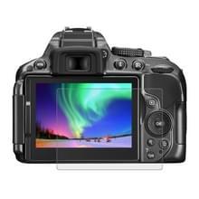 PULUZ 2.5D 9H Gehard glas Scherm bescherming Protector met gebogen rand voor Nikon D5300 / D5500