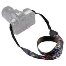 PULUZ Retro Ethnic Style Multi-color Series Butterflies Shoulder Neck Strap Camera Strap for SLR / DSLR Cameras