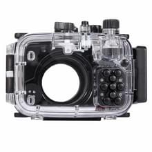 PULUZ 40m Underwater Depth Diving Case Waterproof Camera Housing for Sony RX100 IV(Black)
