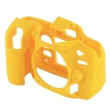 PULUZ Soft Silicone Protective Case for Nikon D7200 /D7100(Yellow)