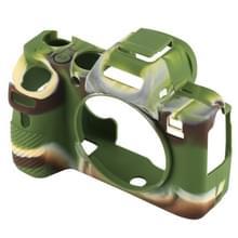 PULUZ Soft Silicone Protective Case for Sony ILCE-7MII / 7SMII / 7RMII (Camouflage)