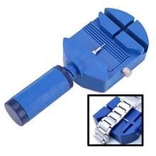 Bekijk Link Remover riem Adjuster armband Band reparatie Tool Kit