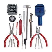18 in 1 Watch Reparatie Tool Set schroevendraaiers zaak Opener