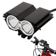 CREE XM-L U2 3 Mode 1400LM Fietslamp(zwart)