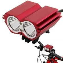 CREE XM-L U2 3 Mode 1400LM Fietslamp(rood)